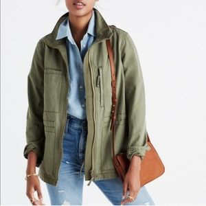 Madewell Fleet Jacket in Desert Olive